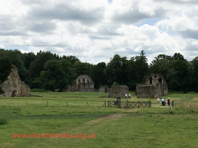 image of abbey ruins