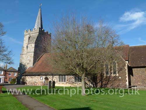 image of St Lawrence church Chobham