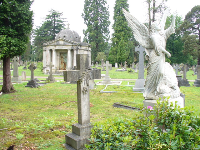 image of Brookwood cemetery