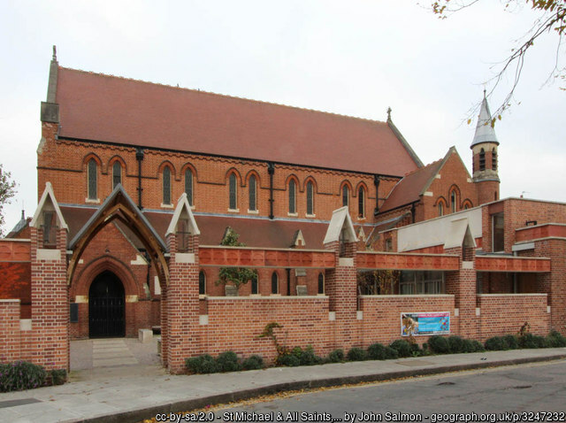 image of Barnes, St. Michael and All Angels church