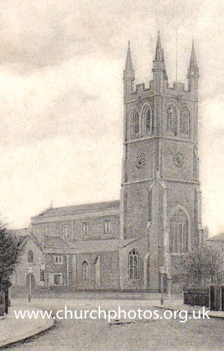 image of St John church Angell Town